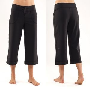 Lululemon Still Wide Leg Crop Legging Pants